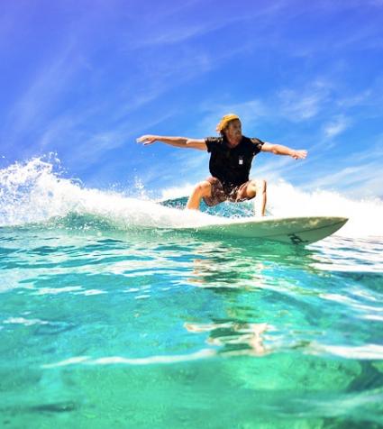 Algarve water sport surf