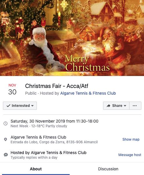Christmas Fair ACCA ATF