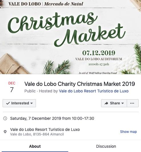 Vale do Lobo Christmas Market