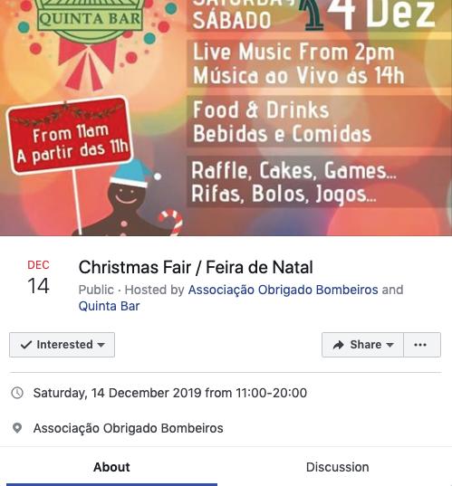 Quinta Bar Christmas Fair
